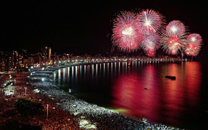 Новый год 2018: как праздновали Новый год в разных уголках мира New Years Eve