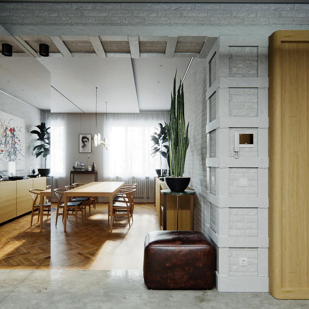 mid-century Дом мечты: Mid-century стиль встречает винтаж в самом сердце Украины!                   Mid century