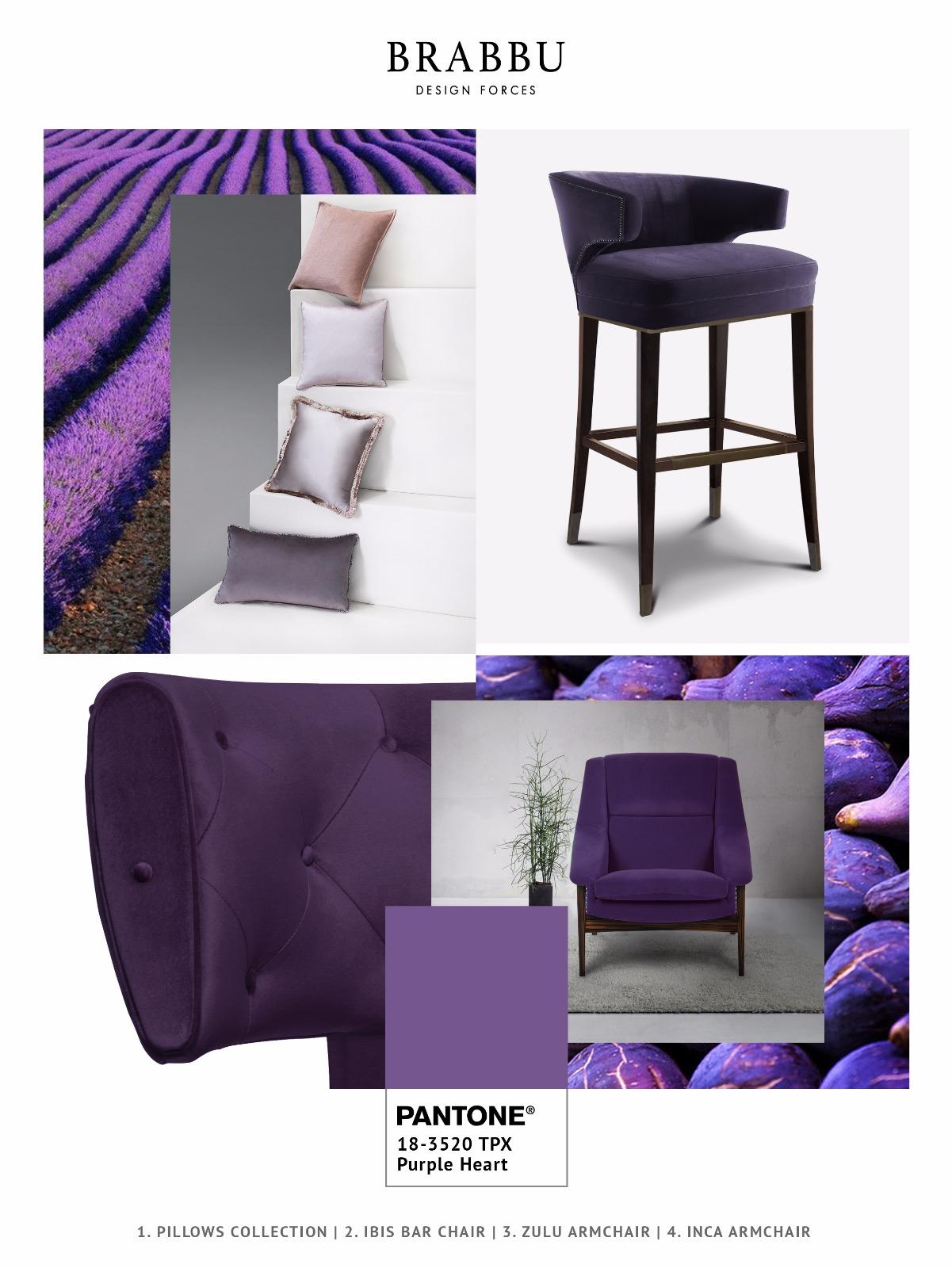 Самые модные цвета весна-лето 2018 Ultra Violet и другие Самые модные цвета Самые модные цвета весна-лето 2018: Purple Heart и другие                                                        2018 Ultra Violet                 5