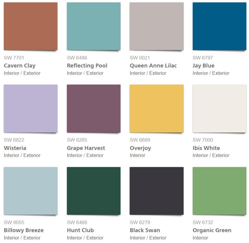 Цвета, в которые вы точно захотите покрасить свои стены в 2018 цвета Цвета, в которые вы точно захотите покрасить свои стены в 2018                                                                                                         2018
