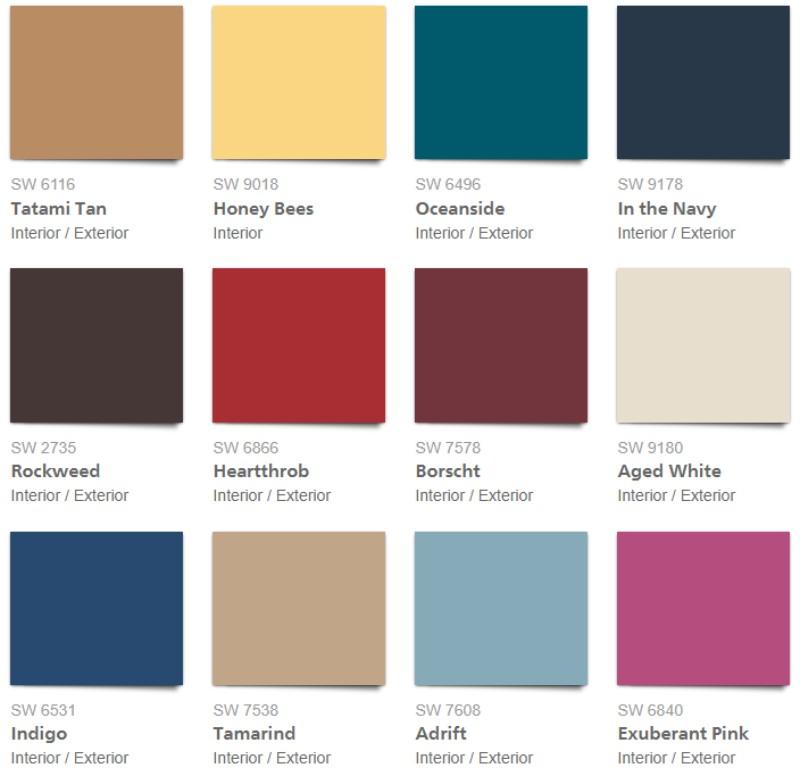 цвета Цвета, в которые вы точно захотите покрасить свои стены в 2018                                                                                                         2018