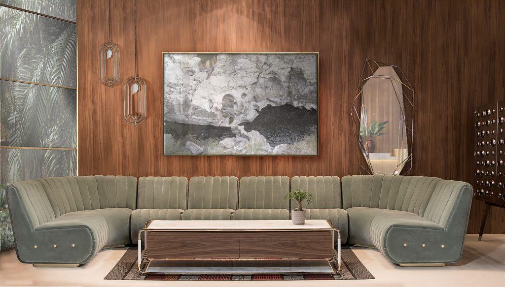 15 mid-century дизайнов гостиных