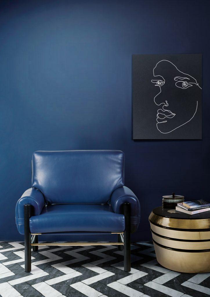 Выбор топ дизайнеров — синий цвет