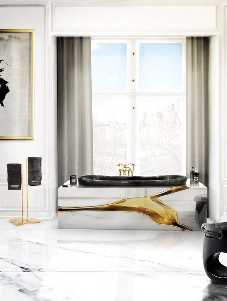 Идеи современных ванных, в которых мрамор — самое главное мрамор Идеи современных ванных, в которых мрамор — самое главное                                                                 1
