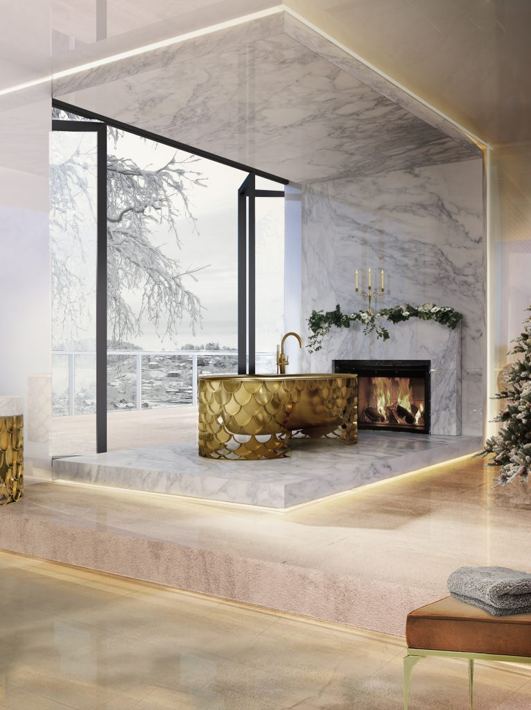 Идеи современных ванных, в которых мрамор — самое главное мрамор Идеи современных ванных, в которых мрамор — самое главное                                                                 2