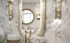 мрамор Идеи современных ванных, в которых мрамор — самое главное                                                                 240x150