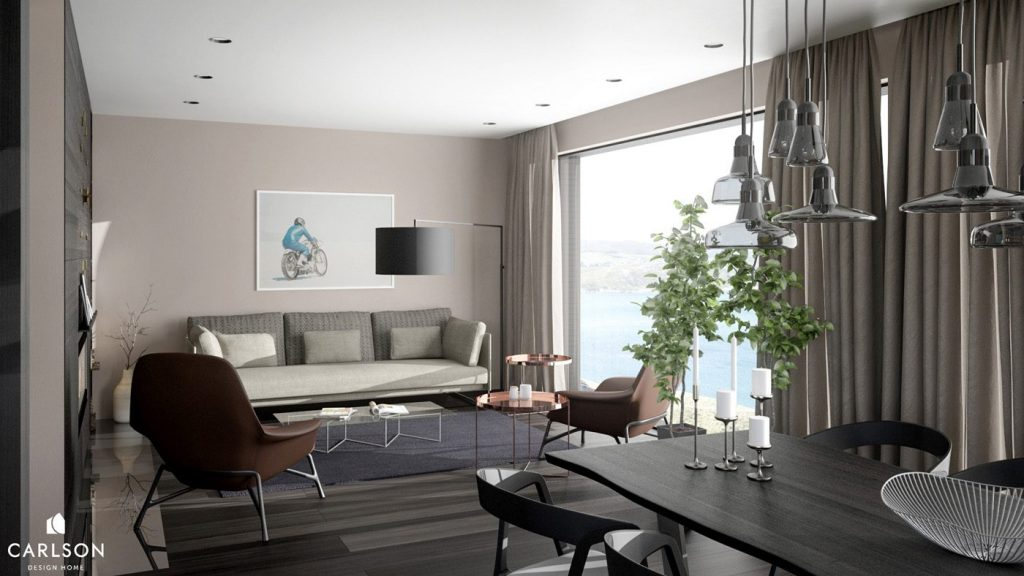Особняк в Норвегии от CARLSON DESIGN HOME