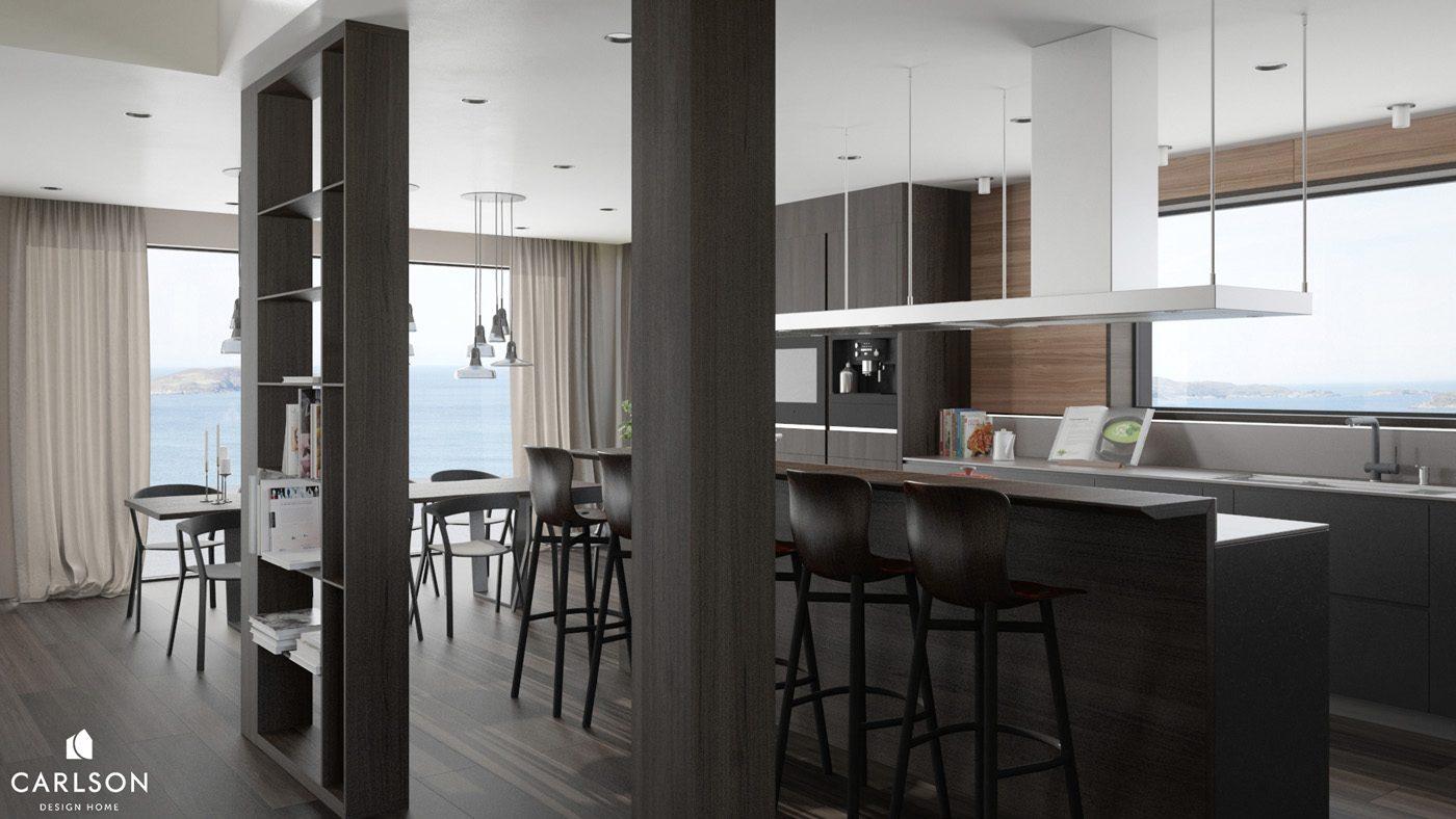 carlson design home Особняк в Норвегии от CARLSON DESIGN HOME                                         CARLSON DESIGN HOME 5