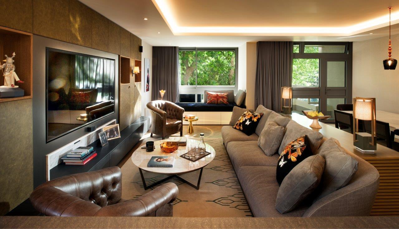 красивые апартаменты от TG Studio, украшенные вместе с BRABBU