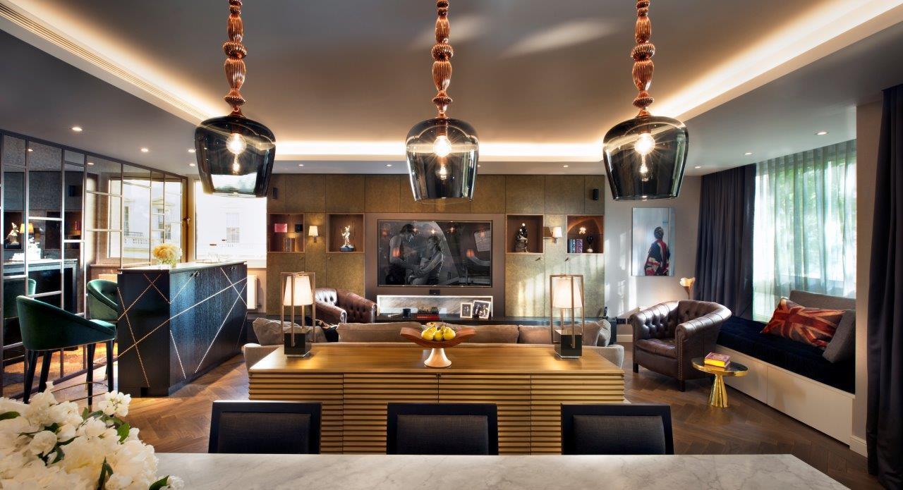 красивые апартаменты от TG Studio, украшенные вместе с BRABBU красивые апартаменты Красивые апартаменты от TG Studio и BRABBU