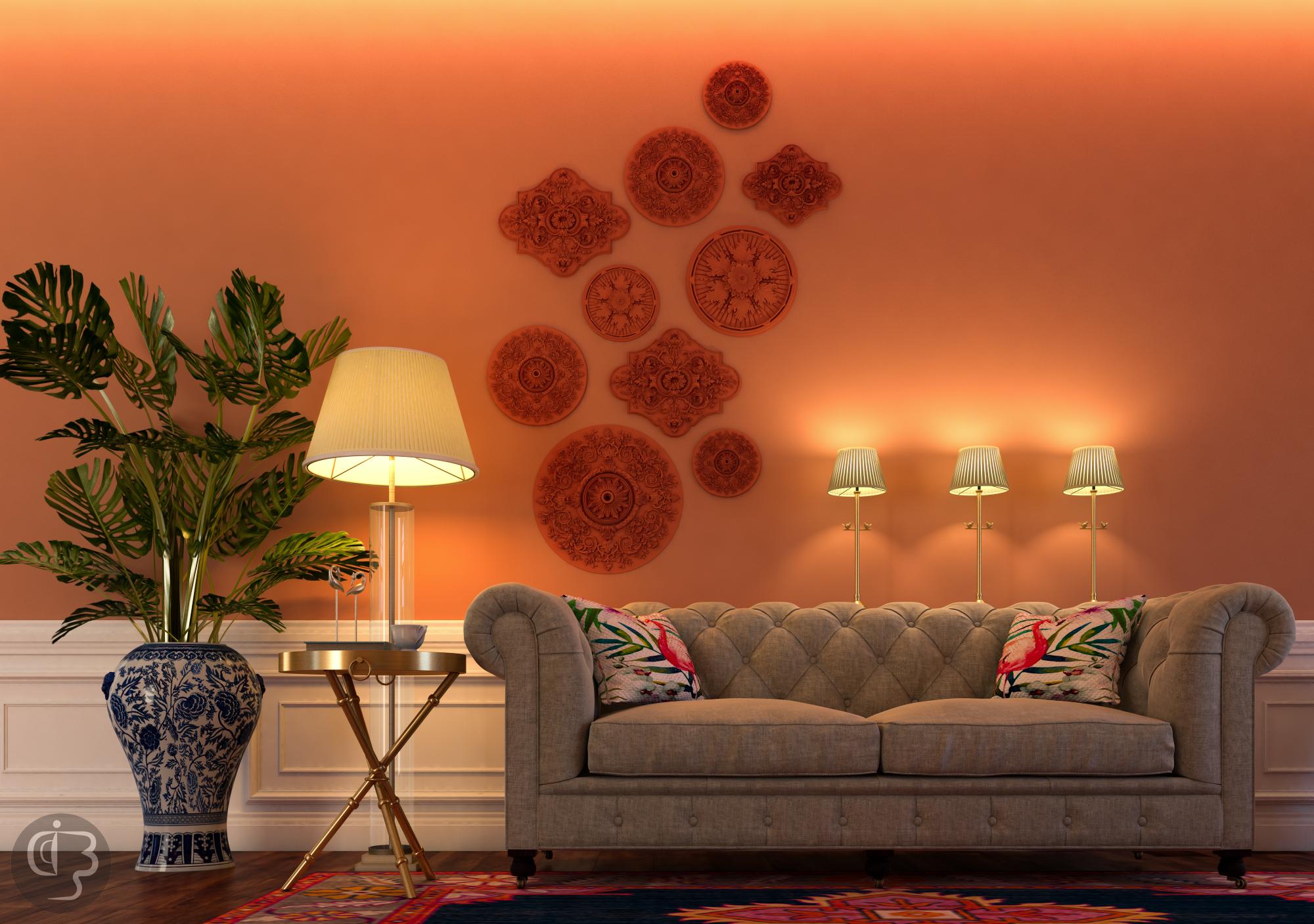 Красивый дизайн интерьера от Boshrainteriors Studio и BRABBU