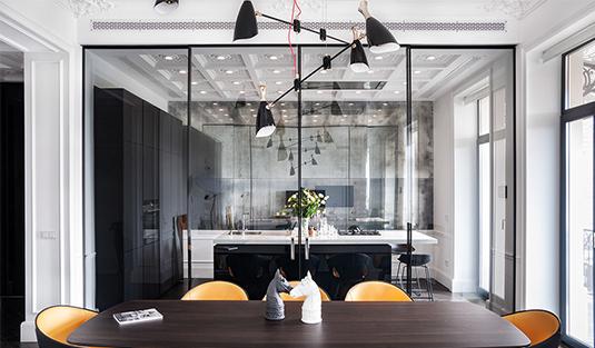 дизайн интерьера квартиры Дизайн интерьера квартиры от канадского дизайнера Alena Makagon                                                                                                                Alena Makagon