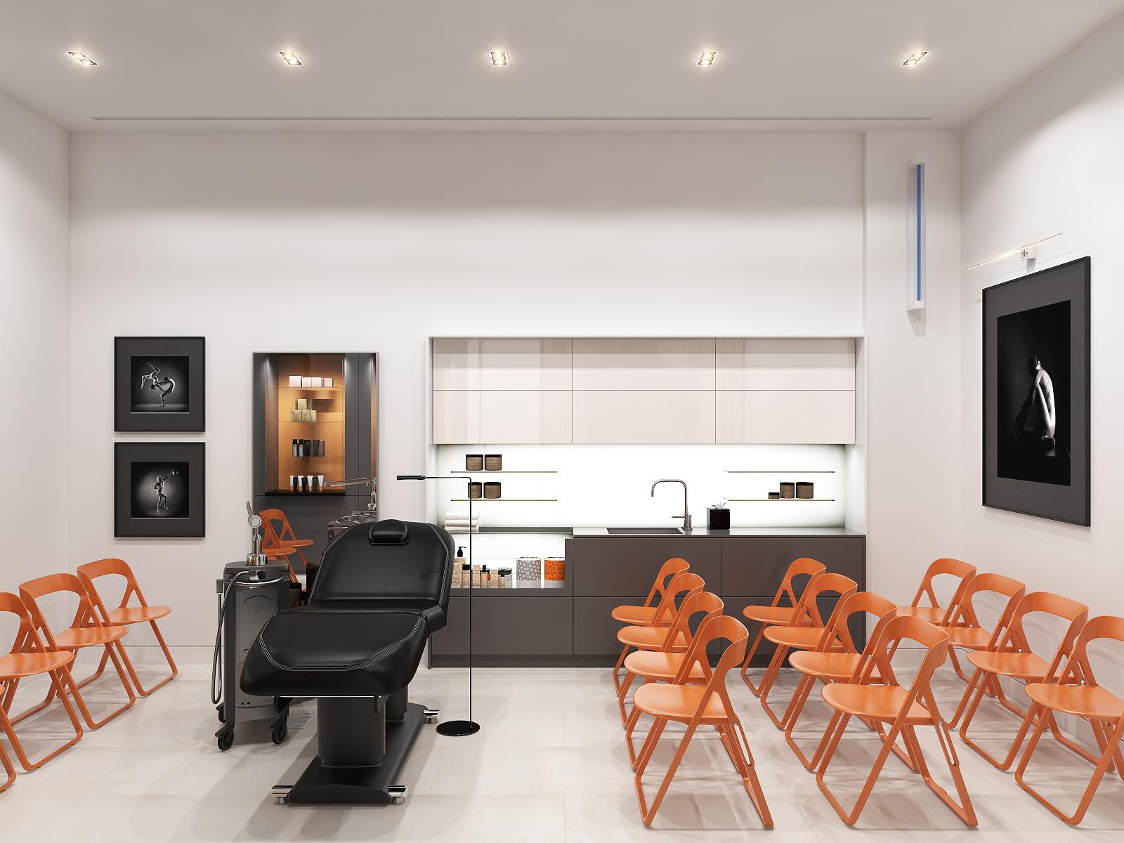 Дизайн интерьера косметического салона от студии Nataly Bolshakova дизайн интерьера косметического салона Дизайн интерьера косметического салона от студии Nataly Bolshakova                                                                                               Nataly Bolshakova 2
