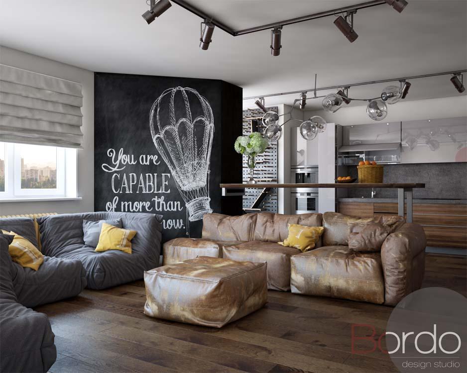 Дизайн-проекты квартир от Bordo Design Studio дизайн-проекты квартир Дизайн-проекты квартир от Bordo Design Studio 2 0