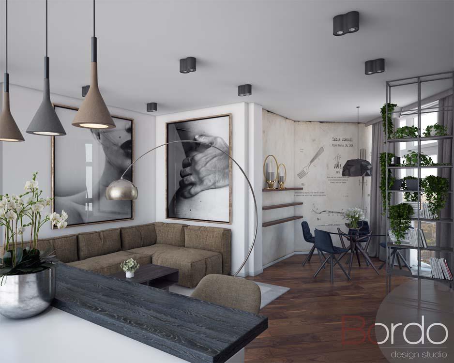 Дизайн-проекты квартир от Bordo Design Studio дизайн-проекты квартир Дизайн-проекты квартир от Bordo Design Studio 2 9