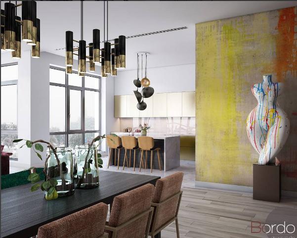 Дизайн-проекты квартир от Bordo Design Studio дизайн-проекты квартир Дизайн-проекты квартир от Bordo Design Studio Bordo design 3