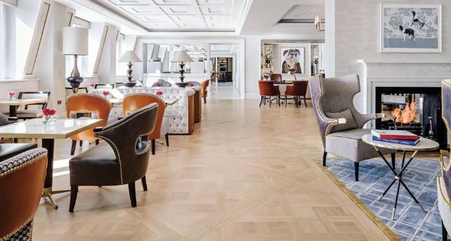 Роскошный дизайн отеля Langham от Richmond International дизайн отеля Роскошный дизайн отеля Langham от Richmond International 1