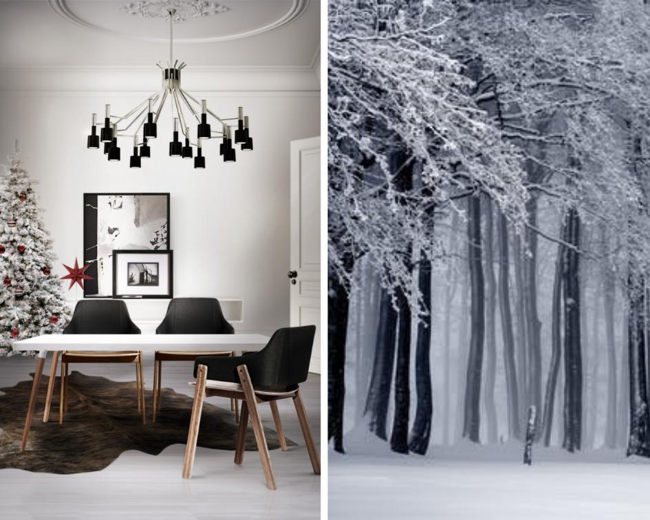 Тренд сезона: зимние цвета в интерьере.