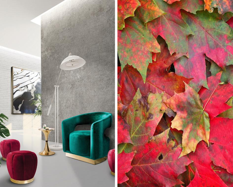 осенние цвета в интерьере Тренд сезона: осенние цвета в интерьере.