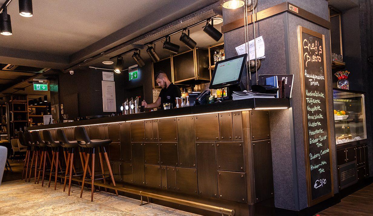 бистро шеф-повара Йонка Сирмена Проект: бистро шеф-повара Йонка Сирмена в Вене, Австрия