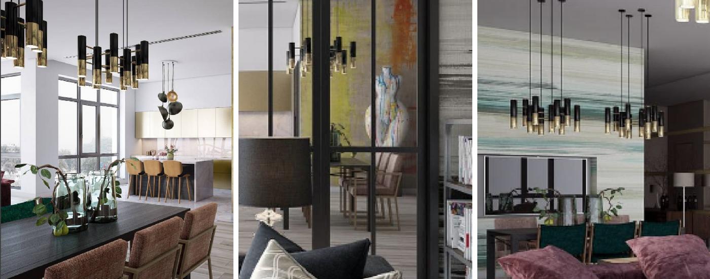 люстра Ike EquipHotel: интерьер, в котором люстра Ike смотрится лучше всего Bordo Design Project