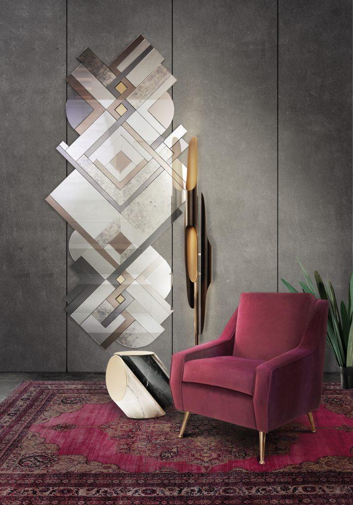 Цвет Бургунди Цвет Бургунди для вашего дизайна интерьера в 2019 Essential Home ambiences living room 10 715x1024
