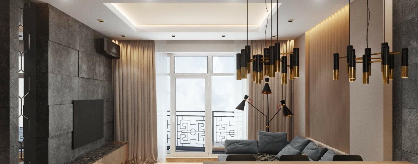 люстра Ike EquipHotel: интерьер, в котором люстра Ike смотрится лучше всего Ike and Simone Residence2