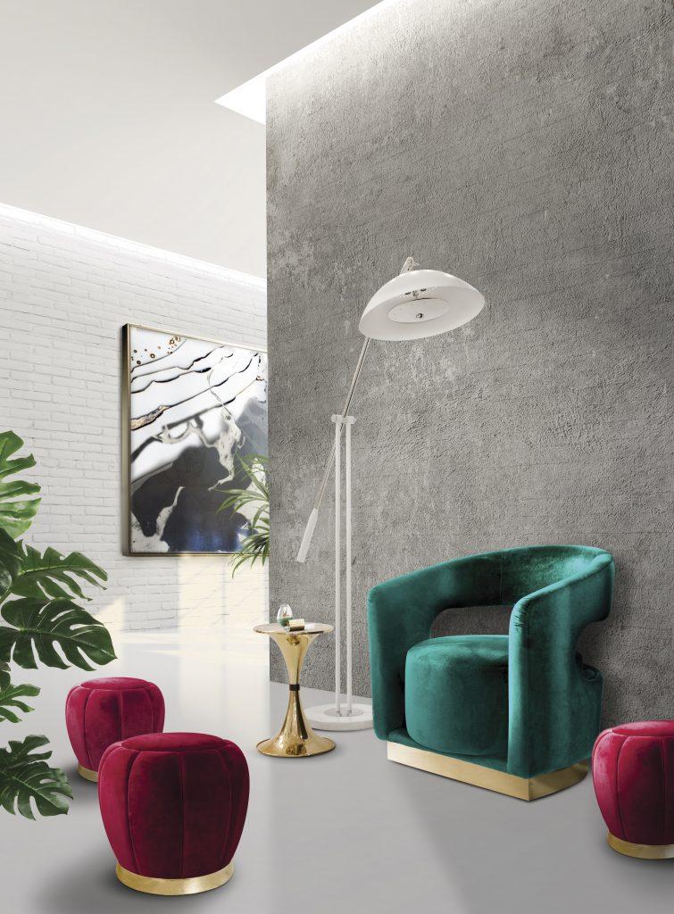 Цвет Бургунди для вашего дизайна интерьера в 2019