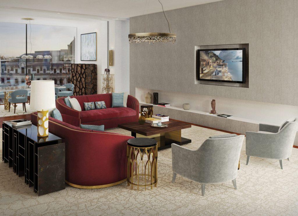 Цвет Бургунди Цвет Бургунди для вашего дизайна интерьера в 2019 brabbu ambience press 75 HR 1024x743