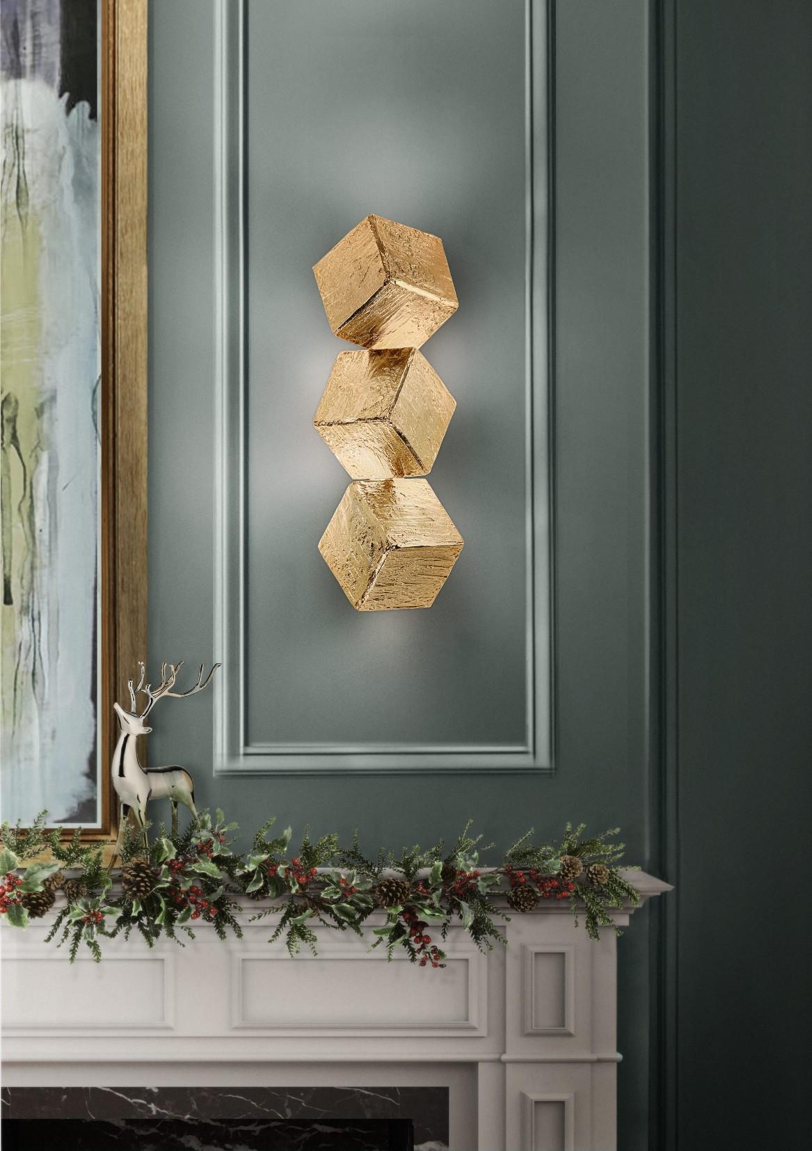 Рождественский декор 2019 Рождественский декор 2019 cubic wall