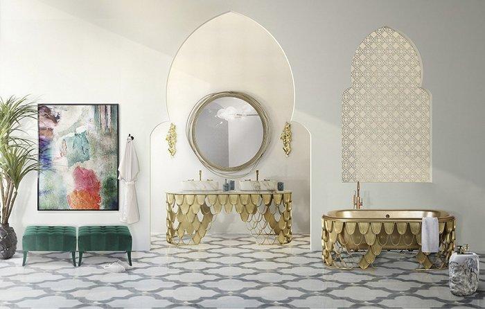 Современный дизайн: зеркала в ванных комнатах Современный дизайн Современный дизайн: зеркала в ванных комнатах rsz bathroom project by brabbu 51