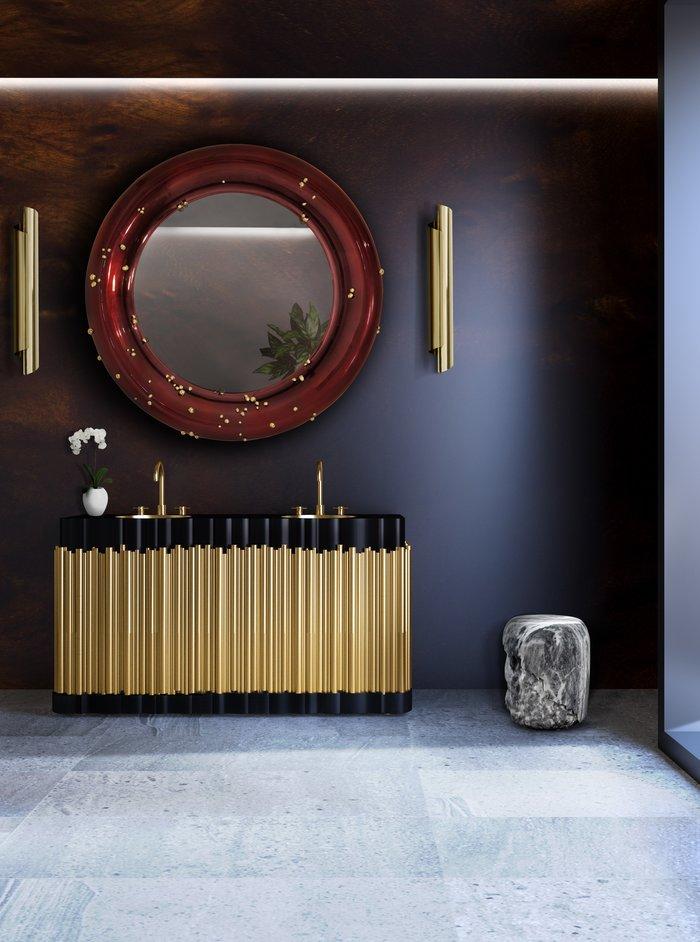 Современный дизайн: зеркала в ванных комнатах Современный дизайн Современный дизайн: зеркала в ванных комнатах rsz hotel brabbu project 2 hr