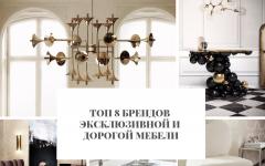 дорогой мебели Топ 8 брендов эксклюзивной и дорогой мебели        8                                                                        240x150