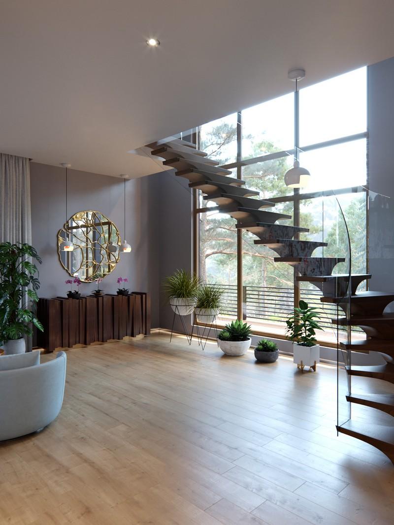 Современный дизайн интерьера по проекту Modern Decoration