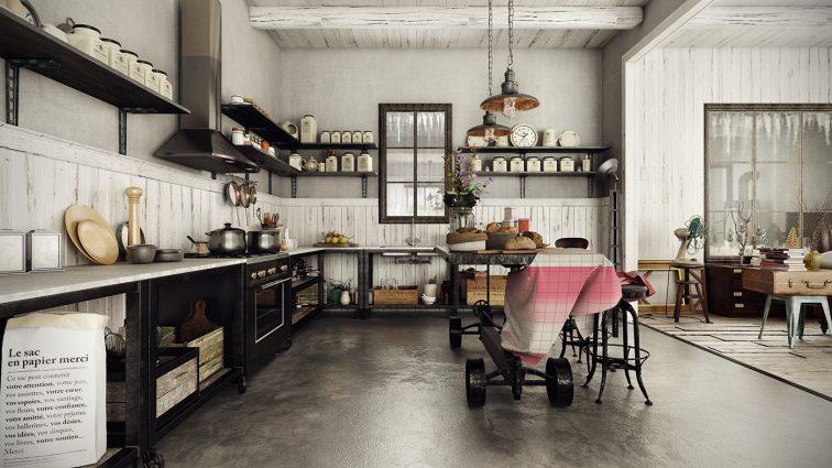 винтажный декор Лучший винтажный декор для дома вашего дома! Dazzling Vintage Industrial Home Inspiration 5 756x425