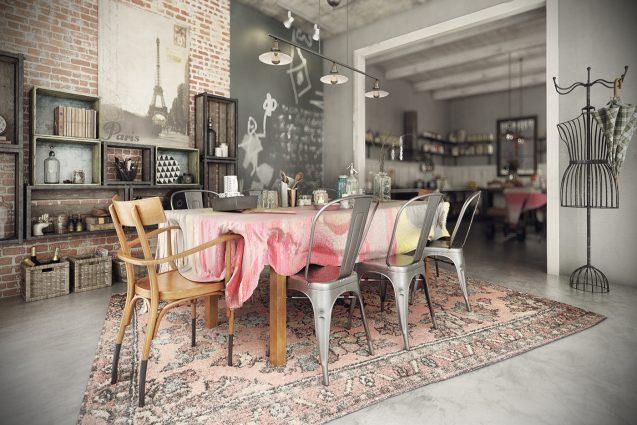 винтажный декор Лучший винтажный декор для дома вашего дома! Dazzling Vintage Industrial Home Inspiration 7 637x425
