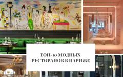 Париже Топ-10 модных ресторанов в Париже        10                                                   240x150