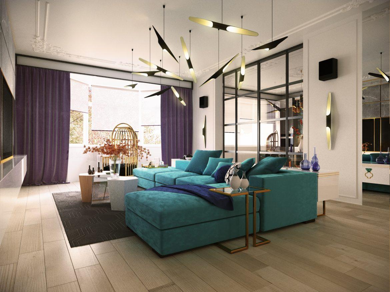 Очаровательный синий дизайн квартиры с потрясающими деталями синий дизайн синий дизайн квартиры с потрясающими деталями Charming Blue Apartment Design With Stunning Details 4