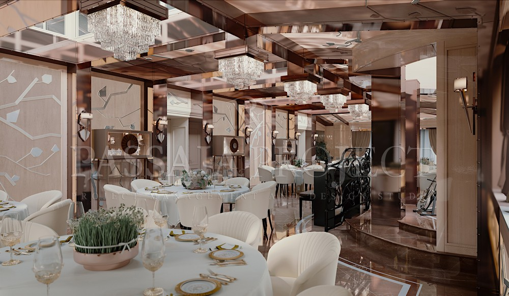 Николо Пассаи - дизайнер интерьера этой московской виллы