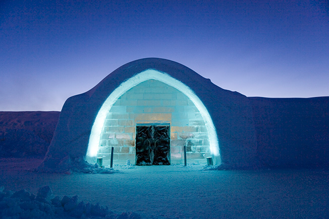 Ice Hotel обновил интерьеры