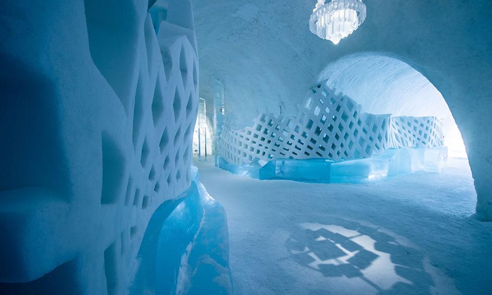 Ice Hotel обновил интерьеры Ice Hotel Ice Hotel обновил интерьеры icehotel 2019 55