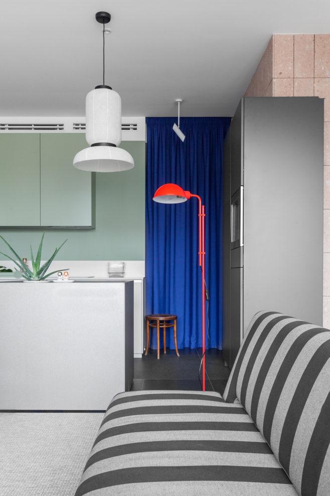 Модернистская квартира вМоскве