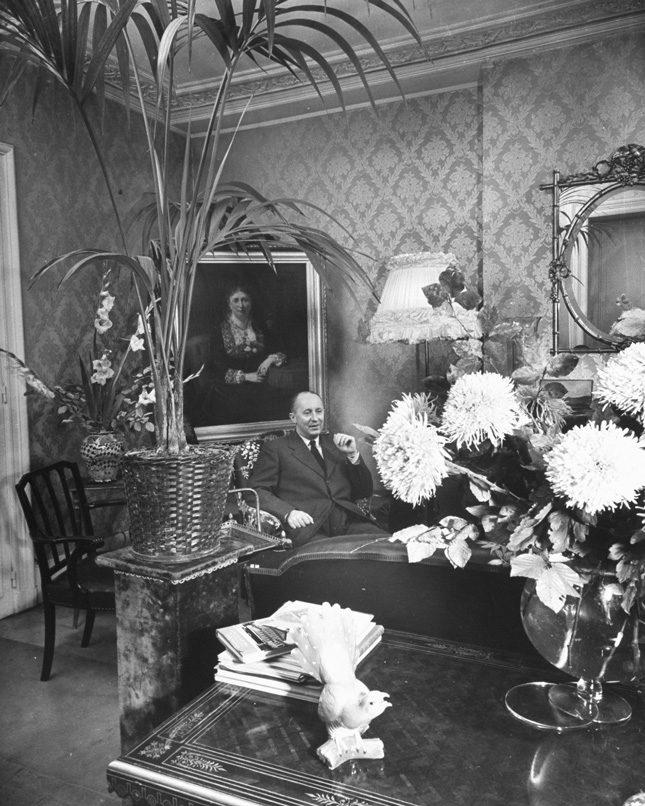 Кристиан Диор и французское art de vivre в интерьере