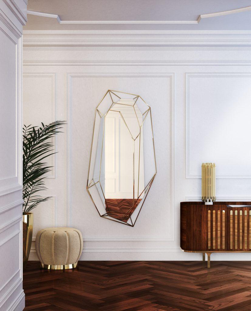 декора 7 предметов декора для создания роскошного интерьера EssentialHome ambience midcentury mirror