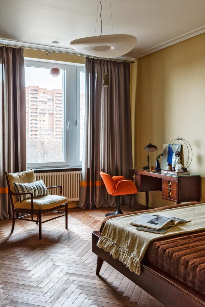 Квартира в духе 1960-х годов в Москве