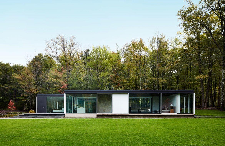 Противоречивый, но удивительный стеклянный дом
