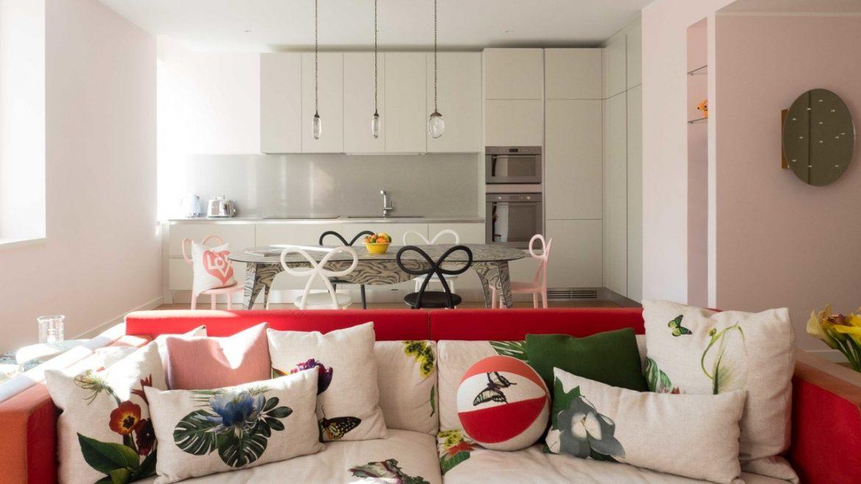 Цвета миланской квартиры были вдохновлены дизайном дивана Цвета Цвета миланской квартиры были вдохновлены дизайном дивана GG AD SWIG HIRES 6