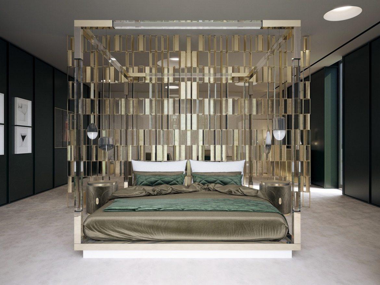 mid-century дом в Калифорнии mid-century mid-century дом в Калифорнии decadent gold bedroom design