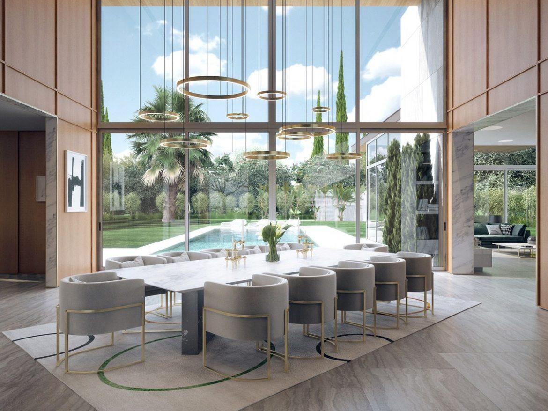 mid-century дом в Калифорнии mid-century mid-century дом в Калифорнии luxury modern dining room