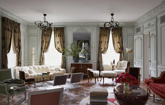 Интерьер гостиной: примеры дизайна в разных стилях Интерьер Интерьер гостиной: примеры дизайна в разных стилях w889 1